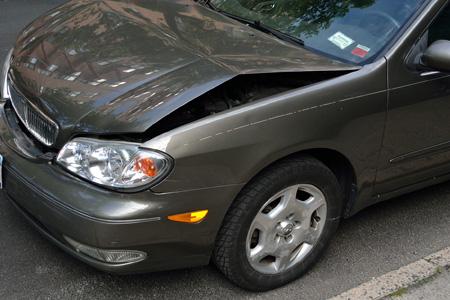 Vid skador på bilen kan ni i mark behöva besöka en skadeverkstad.